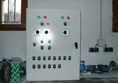Armoire de commande électrique