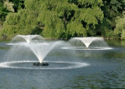 fontaines aérateur de bassin