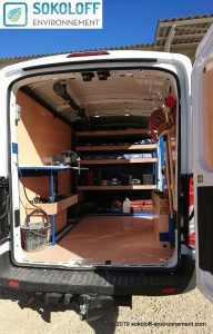 Camion atelier d'intervention